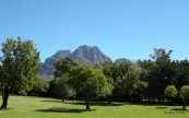 Mountains overlooking Boschendahl, Western Cape