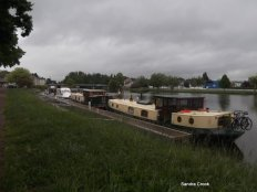 Pontoon at Cercy la Tour