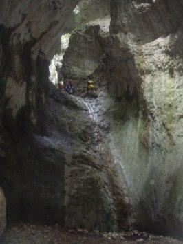 canyoning - descenso de barrancos