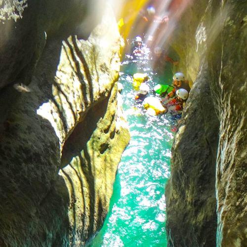 Guías descenso de barrancos