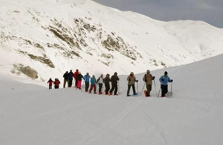 Guías Excursión Raquetas de Nieve - Pirineos