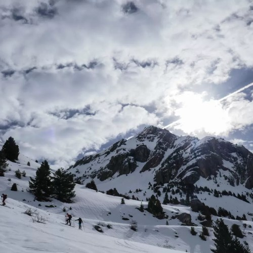 Esquí de montaña. Sanchacollons