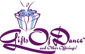 Gifts of Dance logo for Dance Workshop by Shari