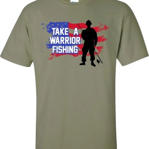 TWF military green t-shirt