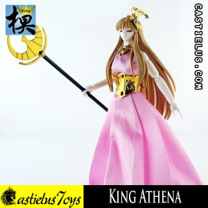 Saint Seiya action figure Bandai Saint Cloth Myth SCM Athena OCE King Model Athena Saori OCE