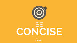 beconcise