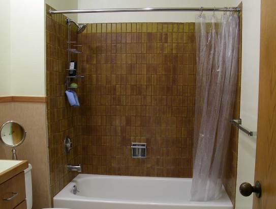Shower before remodel