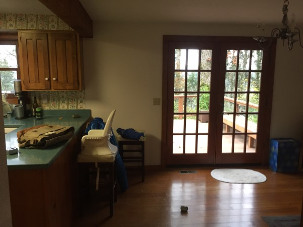 Before Kitchen Bar Remodel