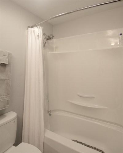 Completed Eugene Bathroom Remodel after sketch design