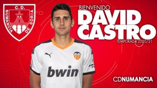 David Castro nuevo jugador del Numancia - castillayleonesdeporte.com