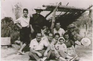Familia Bielsa, de celebración en el Ramblar