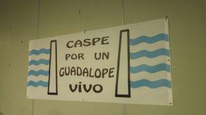 Nuestro lema, bien presente en la sala  (Foto: Tina Piazuelo)