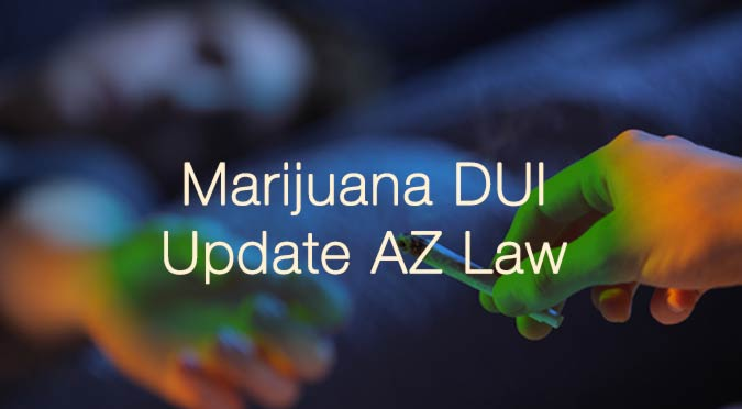 marijuana dui update az castillo law