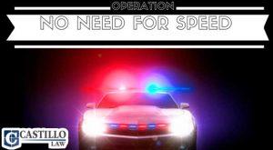 Castillo Law Speeding Charges Phoenix AZ 2017