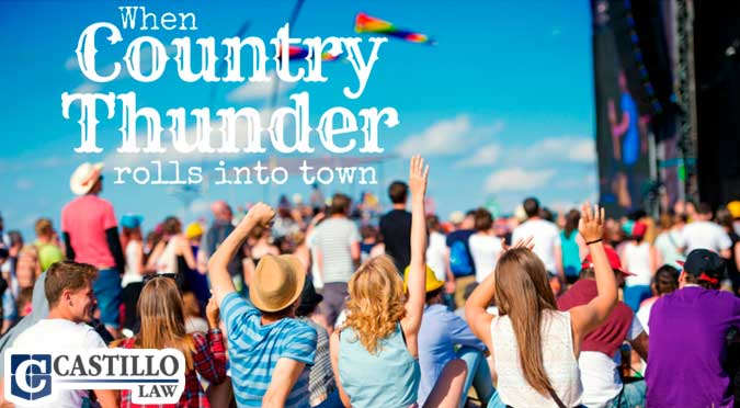 2018 Country Thunder Castillo Law