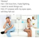 Men Thoughts v Women Thoughts