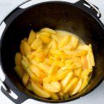 Dutch Oven Fresh Peach Cobbler Cast Iron Recipes