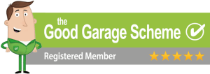 Good Garage Scheme 5 Star Registered Member