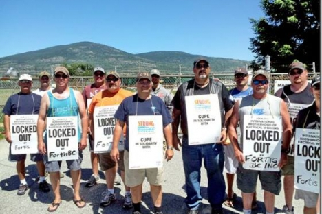Agreement ends FortisBC lockout of 225 electrical workers