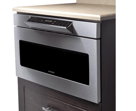 sharp smd2477asc 24 microwave drawer