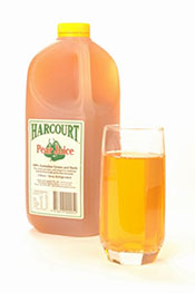 Castlemaine Dips Harcourt pear juice