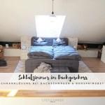 Castlemaker Schlafzimmer Im Dachgeschoss Clever Einrichten Mit Boxspringbett Raumteiler Diy Castlemaker