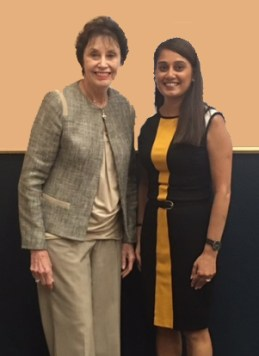 Dr. Joyce Pickering and Varsha Patel
