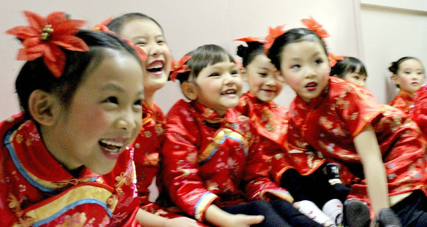 Traditional Chinese Children S Hairstyle Two Buns On The