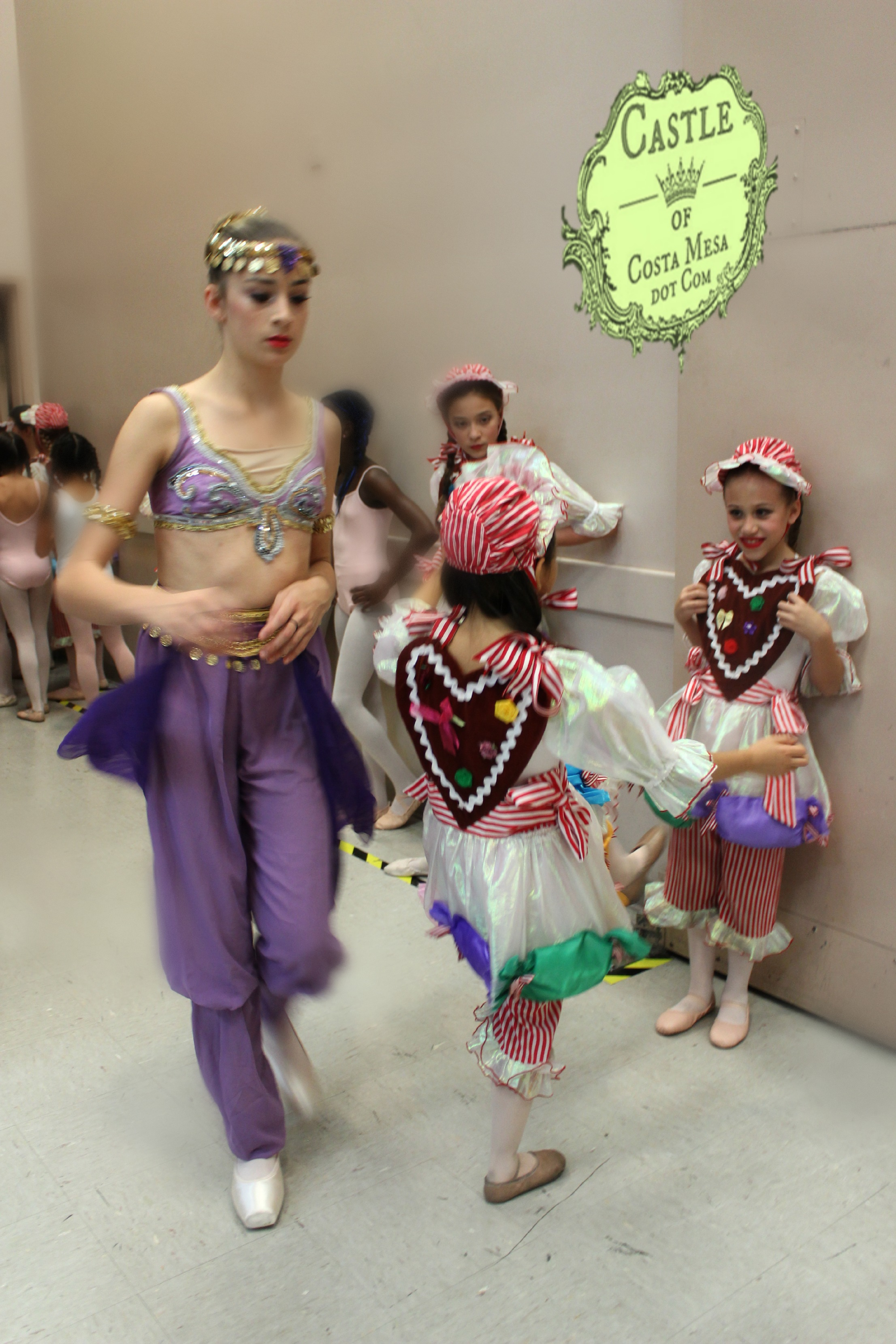 Backstage With The Gingersnaps Ballerinas Wednesday Night