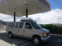 "Our ""Shuttle"" van which carried 7 people to Missouri and back."