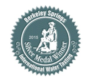 Castle Rock Water Co Silver Medal Winner 2015 International Berkeley Springs