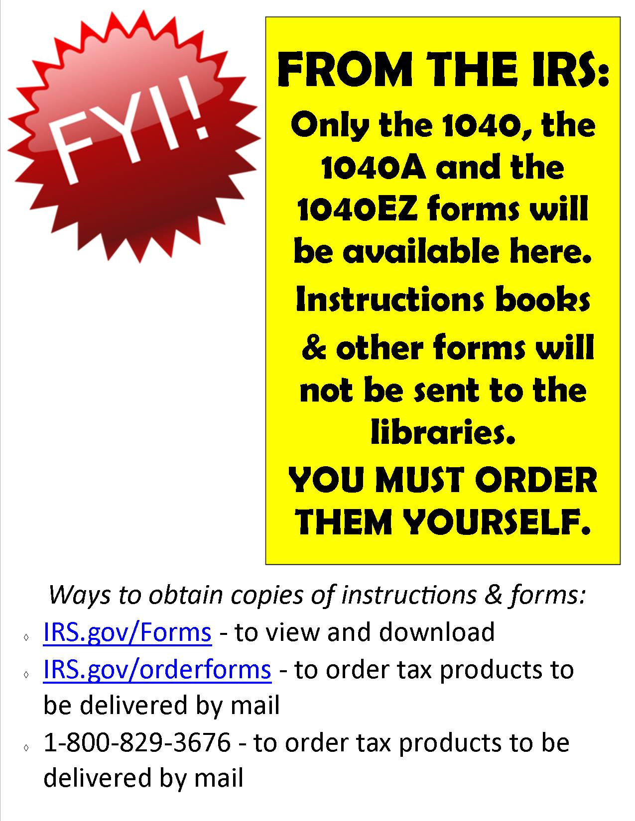 Us Federal Tax Forms A