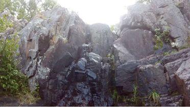 Mina Sauk Falls (just a trickle!)