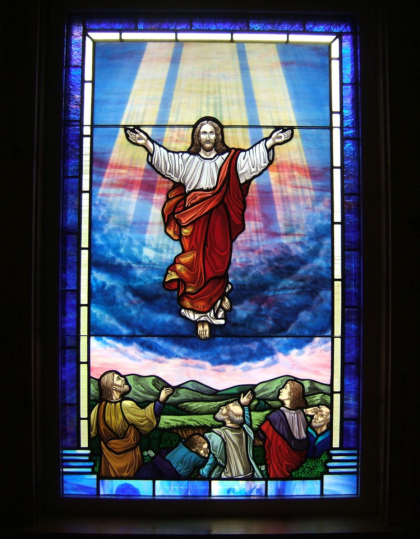 Ascension Window For Ten Mile Baptist Wv Castle Studio