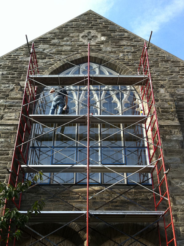 Protective Coverings Castle Studio Stained Glass