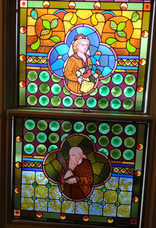Residential Stained Glass Restoration Castle Studio