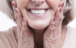 dentures fit properly on woman-castle valley dental
