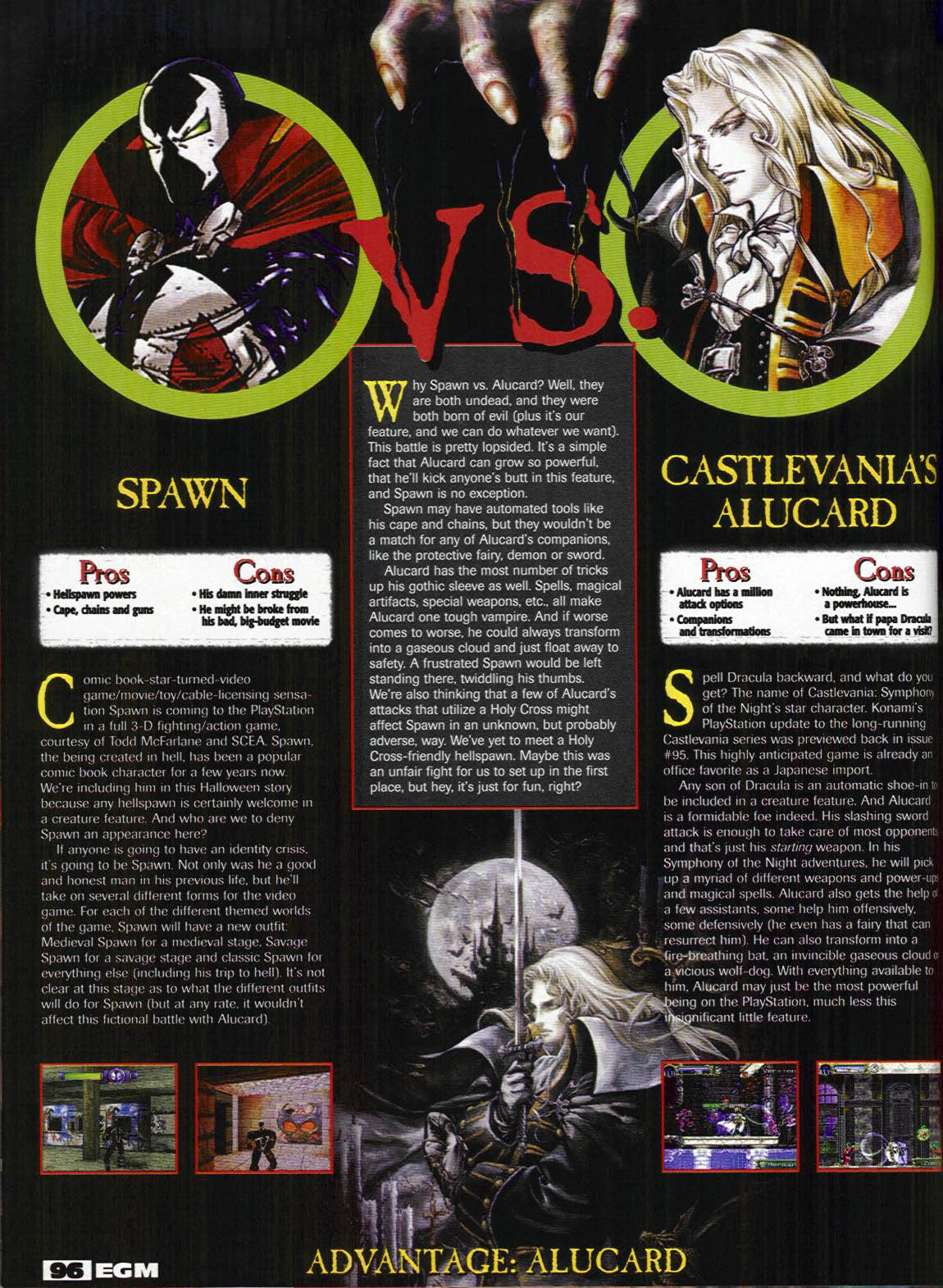 Castlevania Dungeon Magazine Scan Library