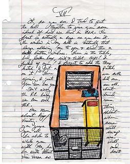 Brief von Herman Wallace an Jackie Sumell