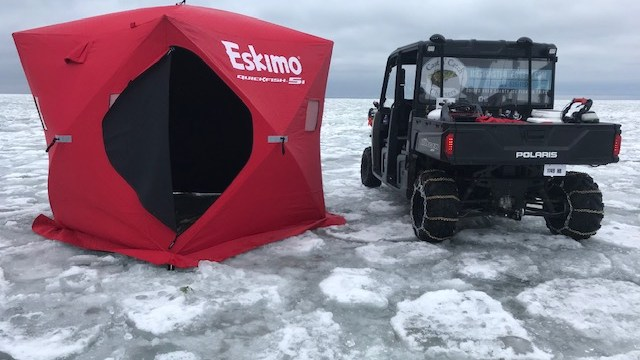 Door County Ice Fishing is Underway!