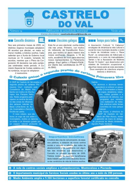Boletín municipal nº19