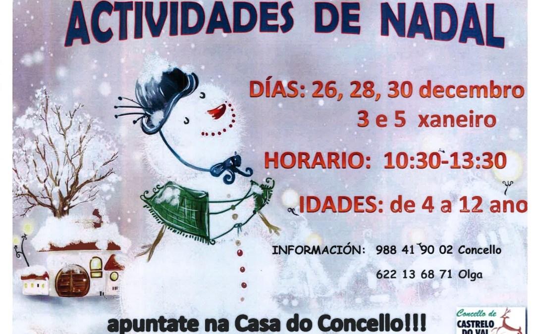 Actividades de Nadal para a infancia