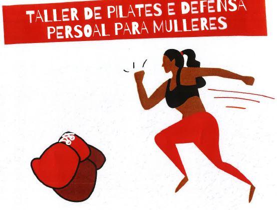 Taller de pilates e defensa persoal para mulleres