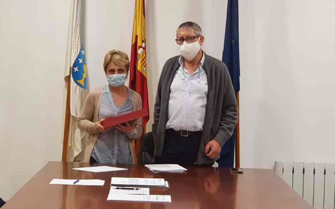 Xubilación de Rosa Losada, funcionaria municipal do Concello de Castrelo do Val durante 39 anos