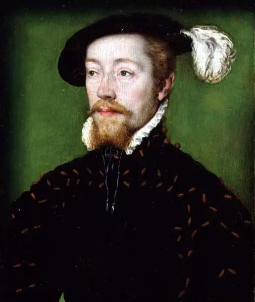 Portrait of James V of Scotland