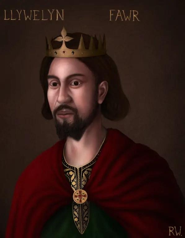 Portrait of Llywelyn The Great