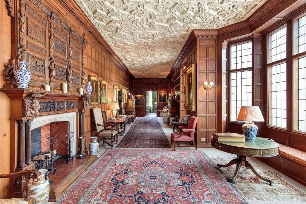 Brechin Castle interior
