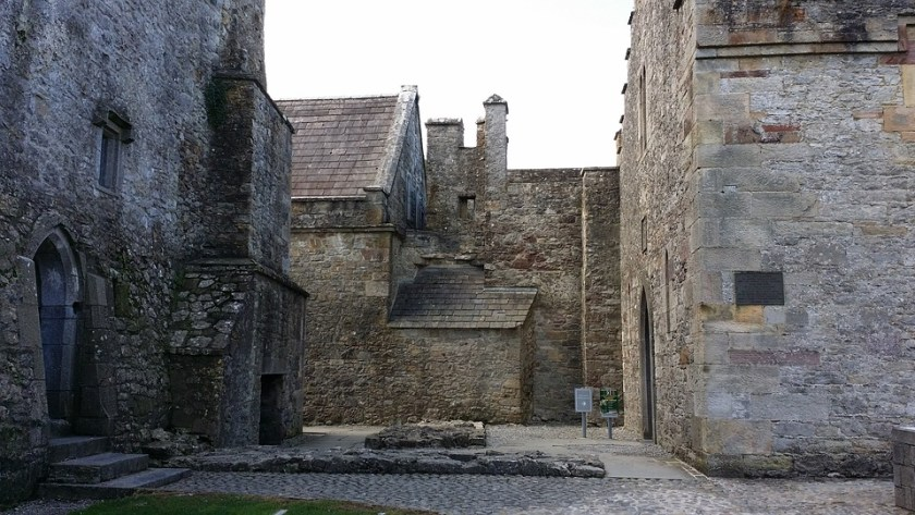 Within the walls of Cahir Castle