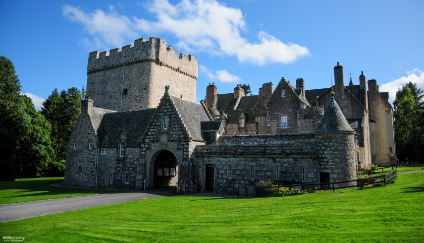 Drum Castle on a summers day