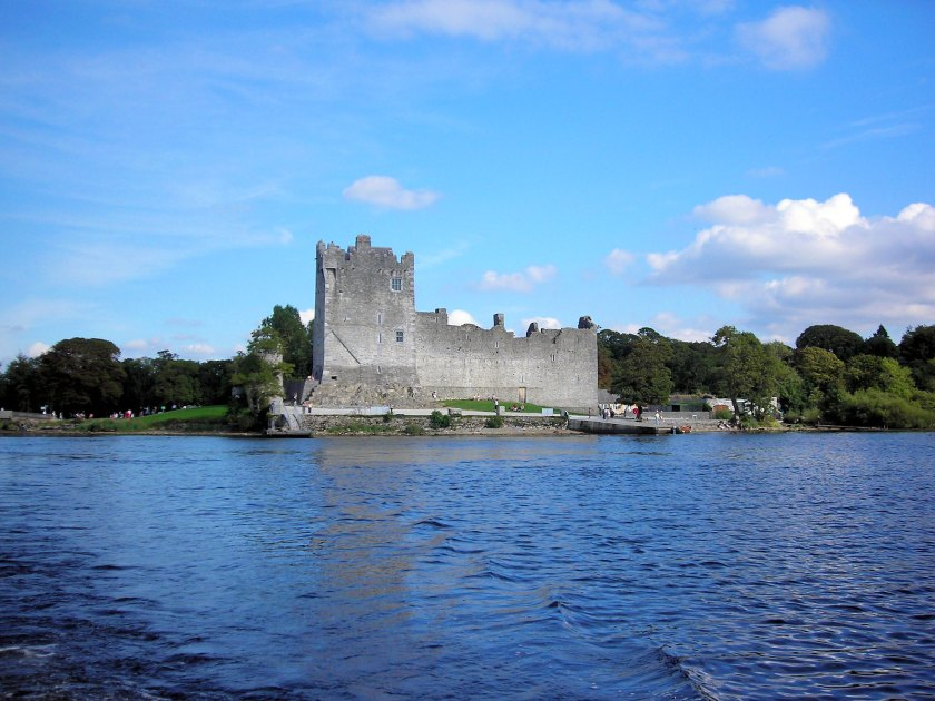 Ross Castle from across the water